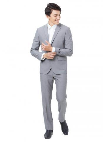 Bộ vest Mattana hai nút gài màu xám