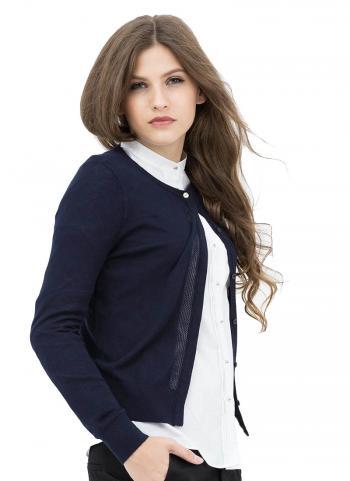 Áo cardigan G2000 tay dài màu xanh đen 6829100278