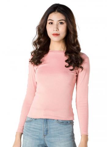 Áo len tăm tay dài Mixxstore 1000015 BP màu hồng